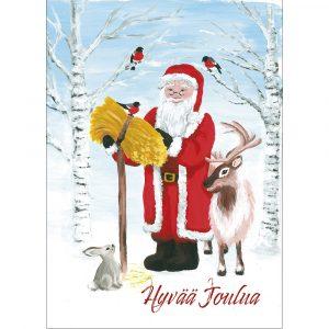 joulukortti-pukki-ja-lyhty