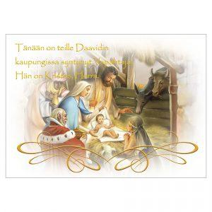 hengellinen-joulukortti-teille-on-syntynyt-vapahtaja