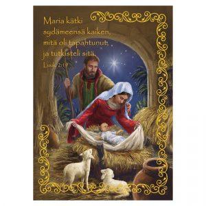 hengellinen-joulukortti-maria-katki-sydameensa