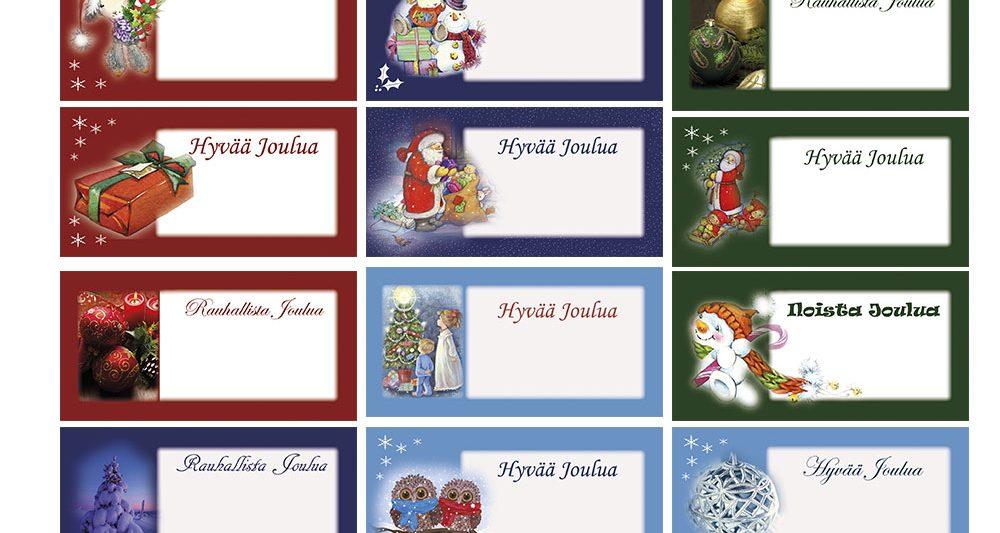 17-joulupakettikortti