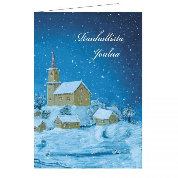 hengellinen-joulukortti-kirkko-taittokortti