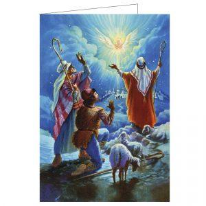 hengellinen-jouluevankeliumi-kortti-paimenet-ja-enkeli