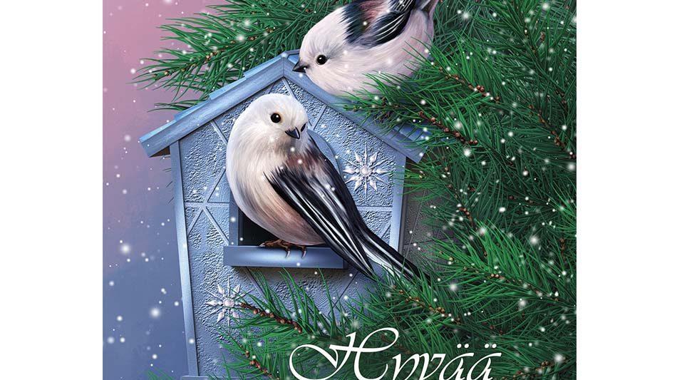 joulukortti-pyrstotiainen