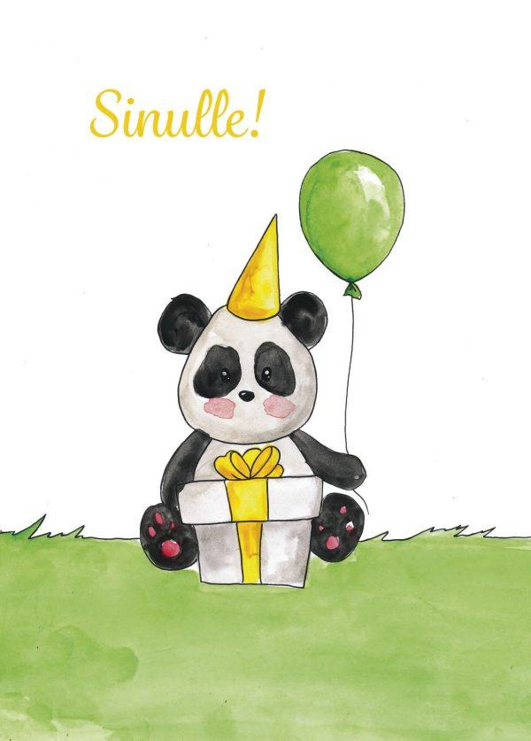panda-kortti