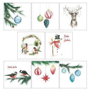 joulukortti-tulkoon-joulu-skandinaavinen-mattakortti