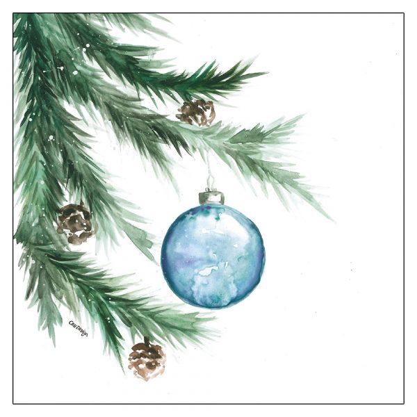 joulukortit-joulupallo-kuusen-oksalla