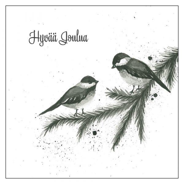 mustavalkoinen-joulukortti-linnut