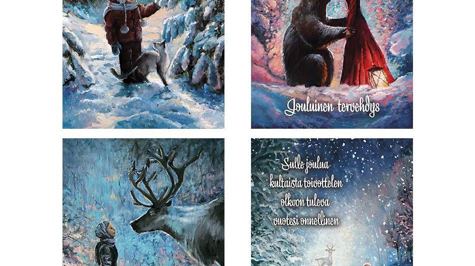 joulukortti-joulun-taikaa-joulun-lapsoset
