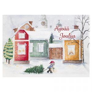joulukortti-tonttu-ja-kuusenhaku