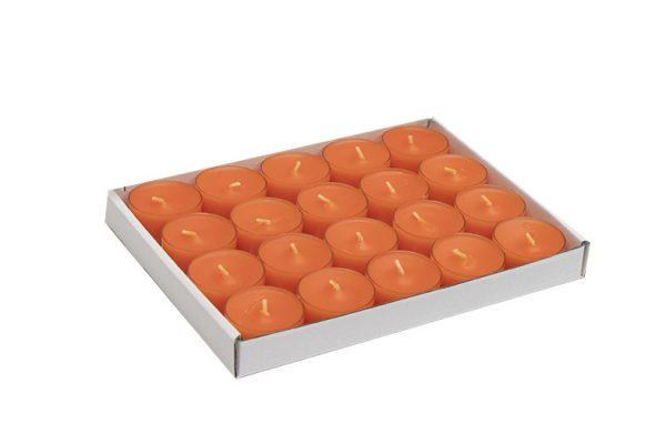 tuoksuton-parafiini-tuikku-kynttila-oranssi