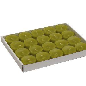 tuoksuton-parafiini-tuikku-kynttila-oliivin-vihrea