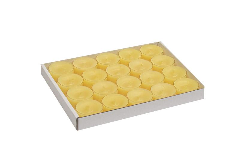 tuoksuton-parafiini-tuikku-kynttila-vaalean-keltainen