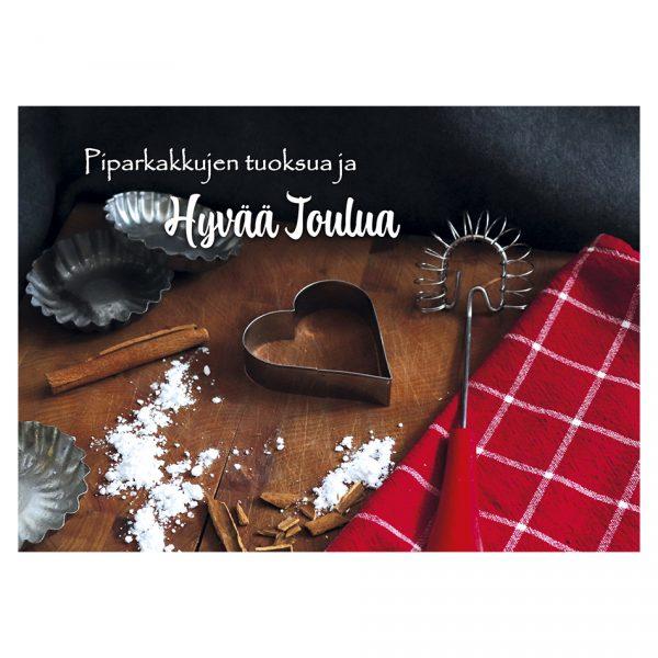 joulukortti-piparkakkujen-tuoksua