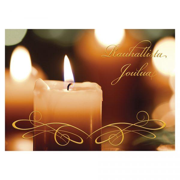 kynttilakortti-joulukortti