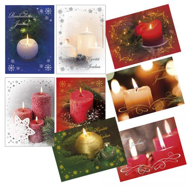 joulukortti-liekin-tunnelmaa-kynttilakortit