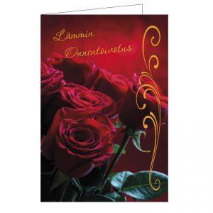 onnittelukortti-punainen-ruusu-kirjekuorella
