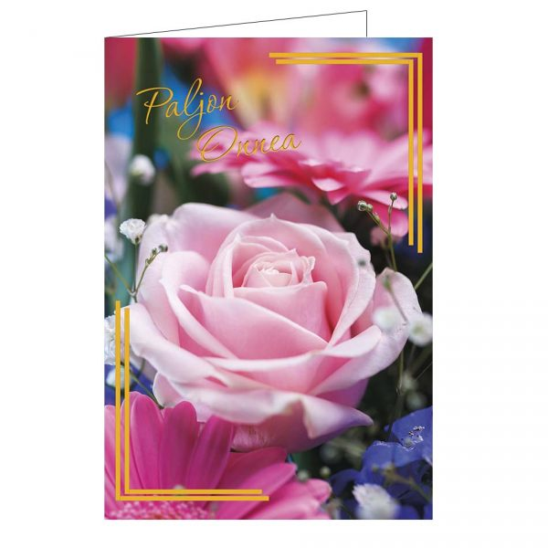 onnittelukortti-ruusukimppu-kirjekuorella