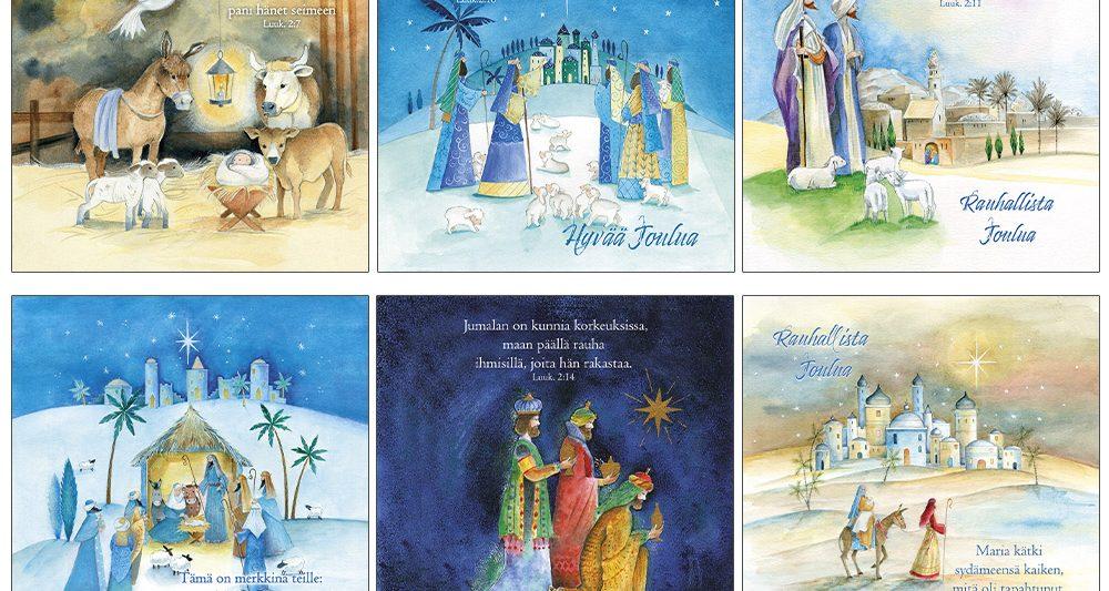 joulukortti-10-on lapsi syntynyt
