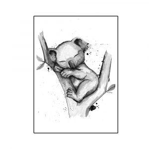 koala-nukkuu-juliste