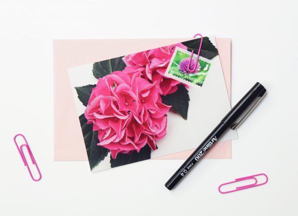 kukka-postikortti-kortti
